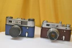 FED-3 & Fed -5 Legendary cameras in an exotic flower