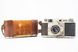 Ricoh 35 Rangefinder Camera with 4.5cm f/3.5 Lens and Case B