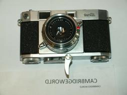 RICOH 500 RANGEFINDER 35mm CAMERA  with RAPID WINDER and 4.5