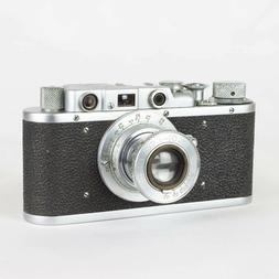 Fed-1 35mm rangefinder film camera with Fed 3.5/50 lens and