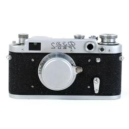 •Fed-2 USSR 35mm Rangefinder Camera w/ Collapsible Indus