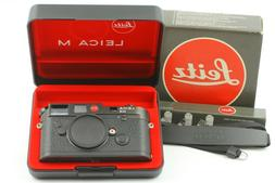【MINT in BOXED Yr.1989】 Leica M6 0.72 Non TTL Black 35mm
