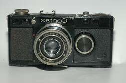 Rare collectible Zeiss Contax Ia rangefinder camera with Tes